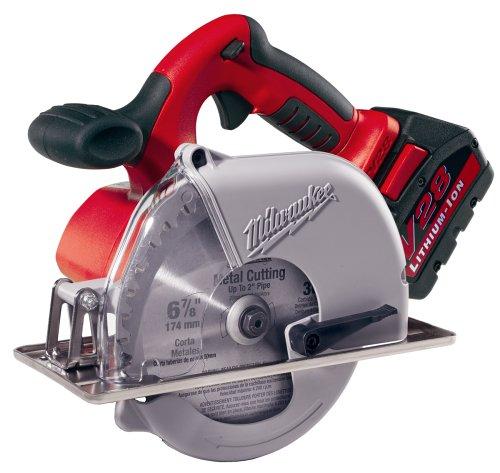 Milwaukee 0740-22 V28 Lithium 6-7 8-Inch Cordless Metal Cutting Circular Saw