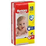 Huggies Baby Diapers, Snug & Dry, Size 2 (12 - 18 lbs), 42 ct Image