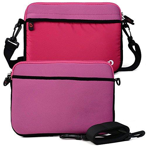 Tickle Me Pink College Bag W/Shoulder Strap fits Apple MacBook 12, MacBook Air 13, MacBook Pro 13-inch (2016) Retina Display Laptop -  EnvyDeal, ND13S2P1 EN TYS2