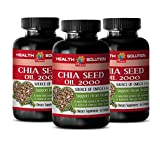Salvia oil - CHIA SEED OIL 2000 - increase mental energy and focus (3 bottles)