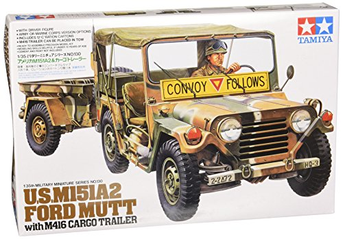 (Tamiya 300035130 - 1: 35 US M151 A2 Ford Mutt with Pendant (1))