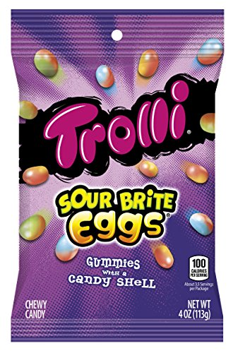 Trolli Sour Brite Eggs Gummy Candy