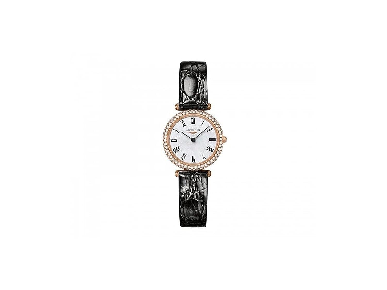 [ロンジン]Longines 腕時計 Agassiz Solid 18K Gold Diamond Bezel MOP Dial Quartz Women's L4.307.9.81.0 [並行輸入品] B0756HQSDZ
