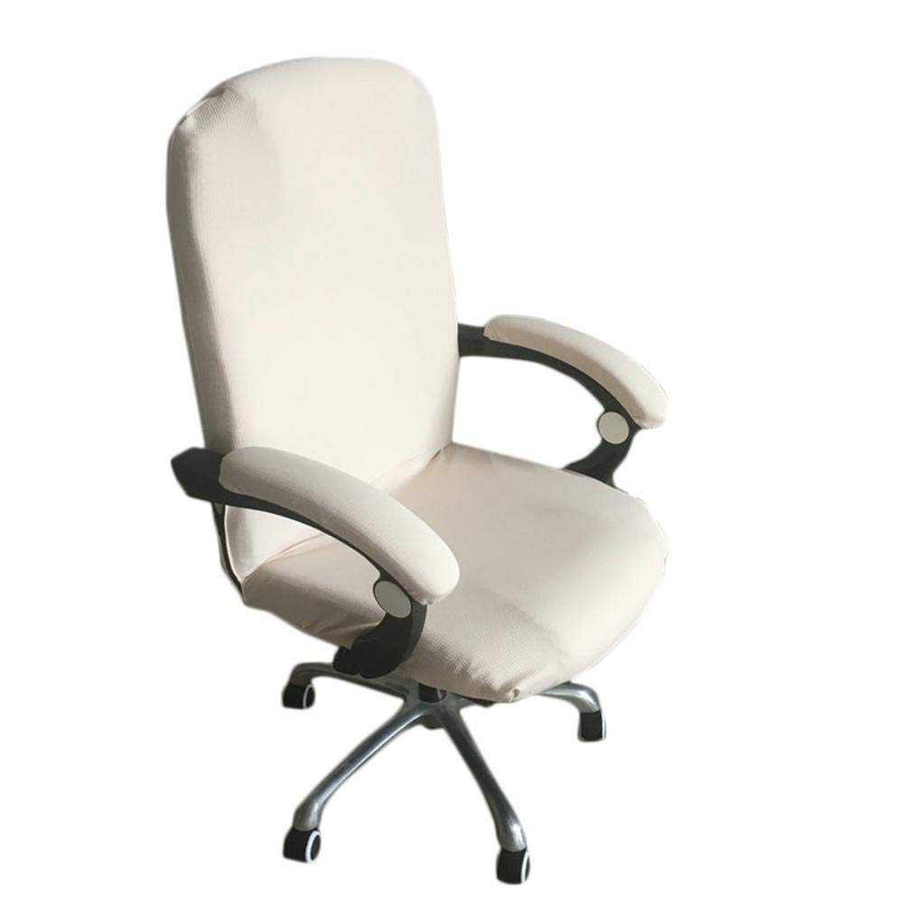 Ablerfly Office Chair Cover Spandex Stretch Swivel Computer Office Desk Chair Covers Stretch Rotating Pure Color Chair Cover Chair Slipcover Protector Samsung Galaxy S7 Edge