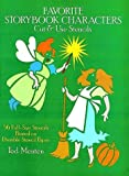Favorite Storybook Characters Cut and Use Stencils, Ted Menten, 0486254488