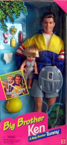Mattel Big Brother Ken & Baby Brother (Barbie Baby Stuff)