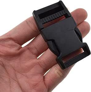 1pc Powerbock Bouncing Stilts Strap Clip Attachment Pro-Jump Left Black Buckle