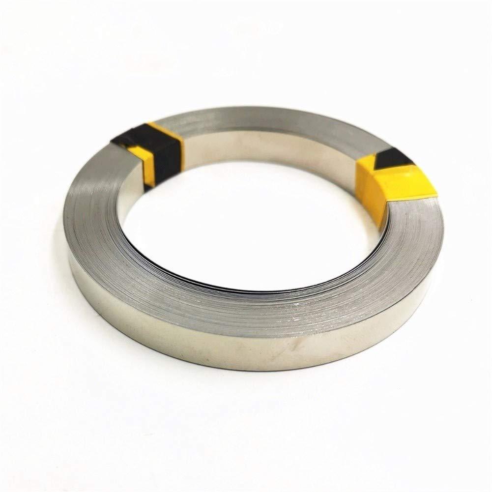 Usato for 18650 0.2x8x5000mm di Grande capacit/à della Batteria al Litio NiMH e NiCd Battery Pack e Saldatura a Punti BTCS-X/® 5m Nichel Puro con 99,96/%