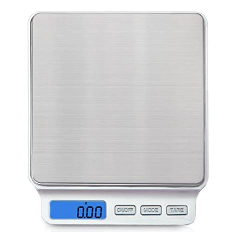 lerda pe Digital Kitchen Scale 3kg Mini Electronic Scales with LCD Display,Batteries Operate,
