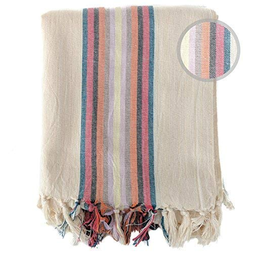 The Loomia Dazzling Artisan Handwoven Series Turkish Towel