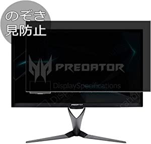 """Synvy Privacy Screen Protector Film for Acer Predator XB323U XB323 U 32"""" Display Monitor Anti Spy Protective Protectors [Not Tempered Glass]"""