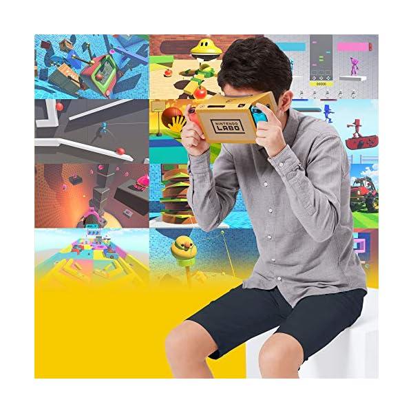 Nintendo Labo Toy-Con 04: VR Kit - Starter Set + Blaster - Switch 5