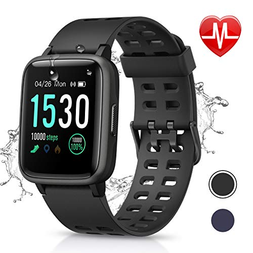 Letsfit Fitness Tracker HR, Activity Tracker with 1.3