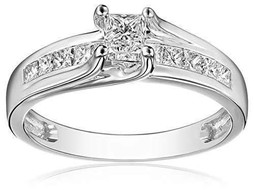 IGI Certified 14k White Gold P