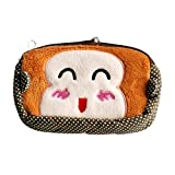 [Happy Monkey] Embroidered Applique Wallet Purse Pouch(5.93.71.1)