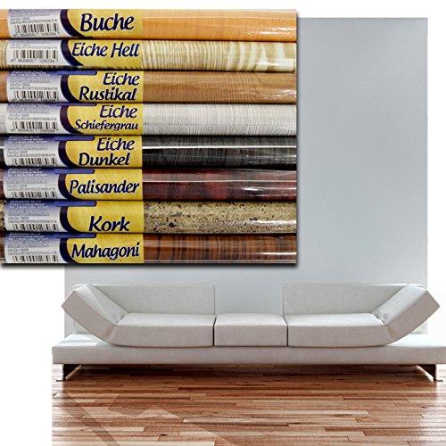 (102) (Eiche-Dunkel) Dekorfolie Klebefolie Holzdekor Möbelfolie Holz selbstklebend 210x90cm