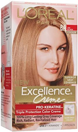 loreal paris crme colorante excellence crme triple protection enrichie en pro - Creme Colorante