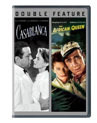 Casablanca / African Queen (Double Feature) (Dvd Movies African Queen)