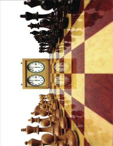 2017, 2018, 2019 Weekly Planner Calendar - 70 Week - Chess King Queen: Classic Chess Game with Timer Clock