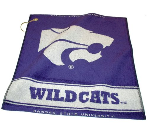 - Team Golf NCAA Kansas State Wildcats Jacquard Woven Golf Towel, 16