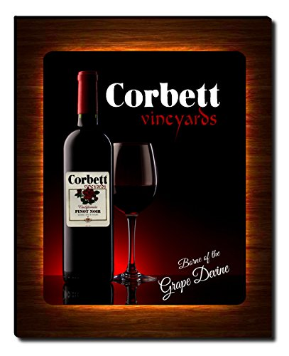 Corbett's Vineyards Wine Gallery Wrapped Canvas Print