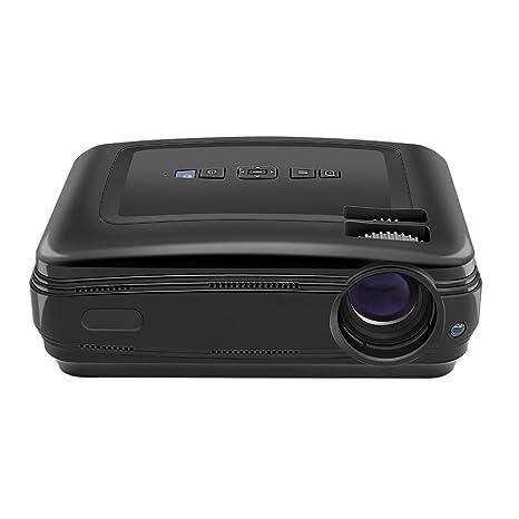 yuntab Portable proyector Full HD 1080p Multimedia Mini LED ...