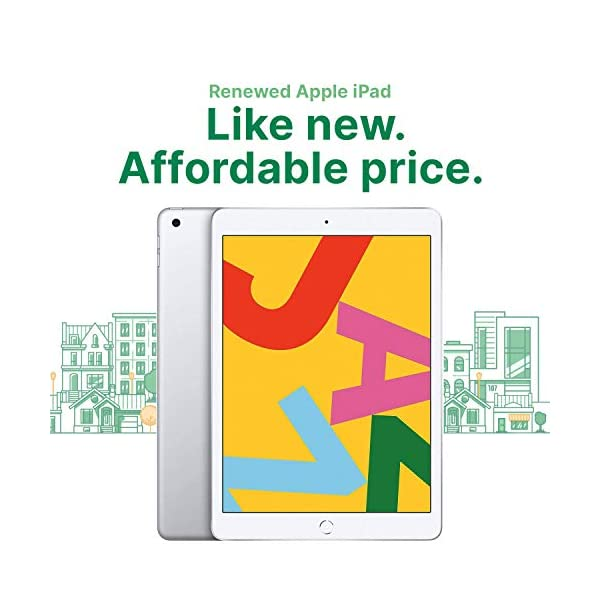 "Apple iPad   9.7""   6th GEN   WI-FI   32GB   Silver   2018   (Renewed) 2"