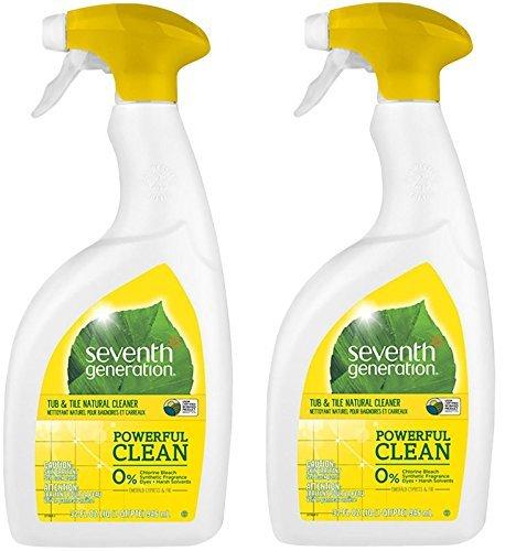 Seventh Generation Natural Tub & Tile Cleaner - Emerald Cypress & Fir - 32 oz (Pack of 2)
