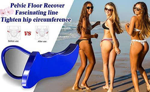 Super Kegel Exerciser + Bonus Yoga Ring | Pelvic Floor Muscle and Inner Thigh Exerciser | Hip Trainer Buttocks Lifting | Inner Thigh Toner & Butt Toner | Pelvic Floor Strengthening Device for Women