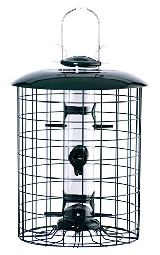 Woodlink WLC6S Caged 6-Port Seed Tube Feeder