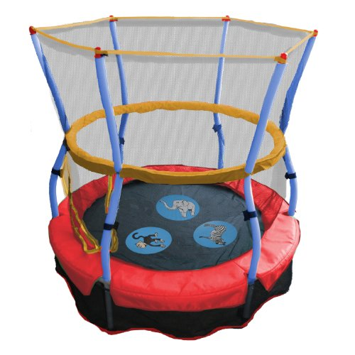 Skywalker Trampolines 48 En. Round Zoo Adventure Bouncer avec filet