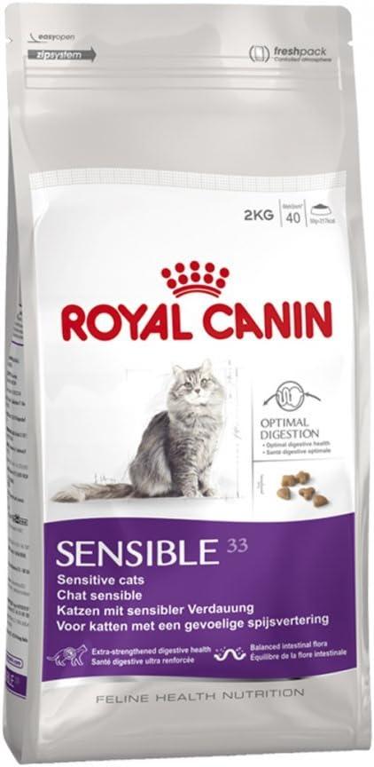 Alimento seco para gatos de Royal Canin, equilibrado y completo para gatos de 2 kg