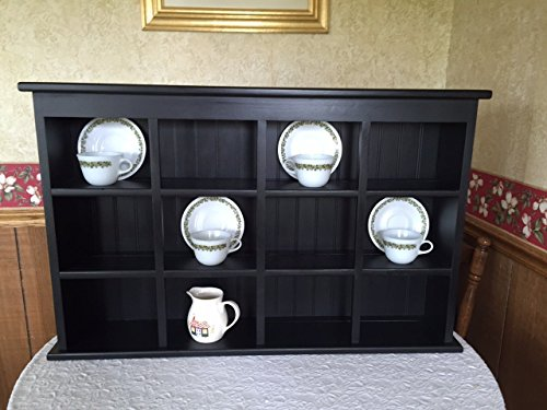 Tea Cup and Saucer Plate Rack and Kitchen Display Shelf -