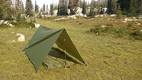 Backpacking Tent rain fly and ground cover Great for backpacking tent summer c&ing tent or Emergency Shelter ... & Tent rain fly and ground cover Great for backpacking tent summer ...