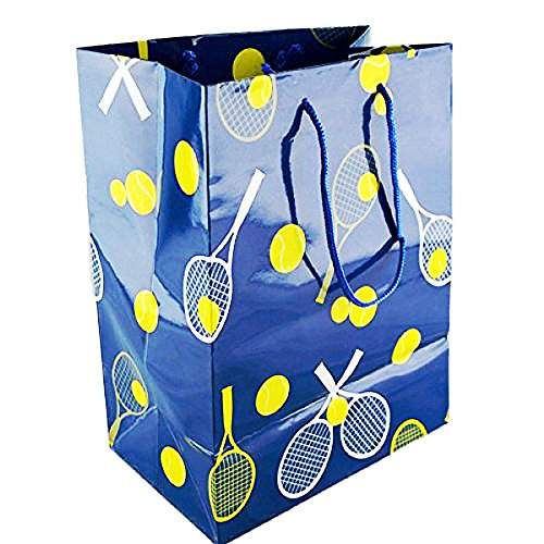 Tennis Glossy Gift Bag Large (Bag Gift Tennis)
