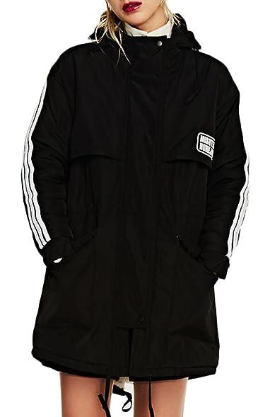 Women's fleece lined jacket windbreaker