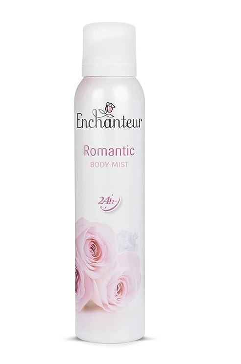 Enchanteur Romantic Body Mist, 150ml