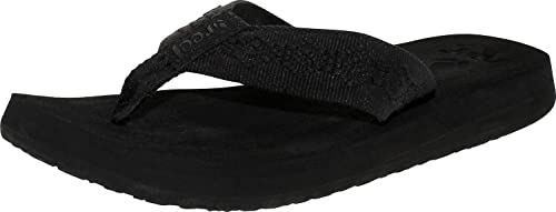 Reef Sandy Femme Chaussures Tongs-Noir Toutes Tailles