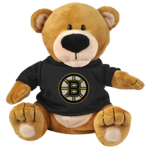 Forever Collectibles NHL Boston Bruins Plush Bear Loud MouthPlush Bear Loud Mouth, Team Colors, One Size ()