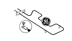 General Electric WB44X195 Range/Stove/Oven Bake Element