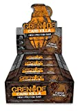 Grenade Carb Killa High Protein and Low Carb Bar, 12 x 60 g - Fudge Brown