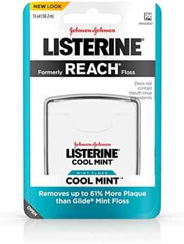 Listerine Dental Floss, Cool Mint
