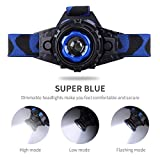 STCT Street Cat Zoomable LED Headlamp, Rechargeable Super Bright Waterproof Head Light FOR Free Work, Hiking, Camping, Climbing, Running and Adventure.