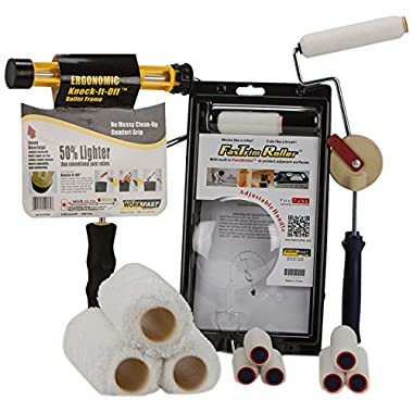 FasTrim Roller FTK3-14 Deluxe Home Painting Kit with Bonus Rollers, 14-Piece