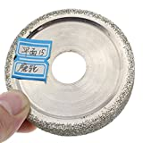 """ILOVETOOL 3"""" inch 15mm Lapidary Electroplated"""