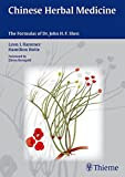 Chinese Herbal Medicine: The Formulas of Dr. John H.F. Shen