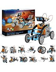 OASO Robot Building Kits for Kids, 12 in 1 Science Experiment Robot Kits for Boys Girls 8 9 10 and up, DIY Solar Powered STEM Creative Robot Toy Sets(190 Pieces)