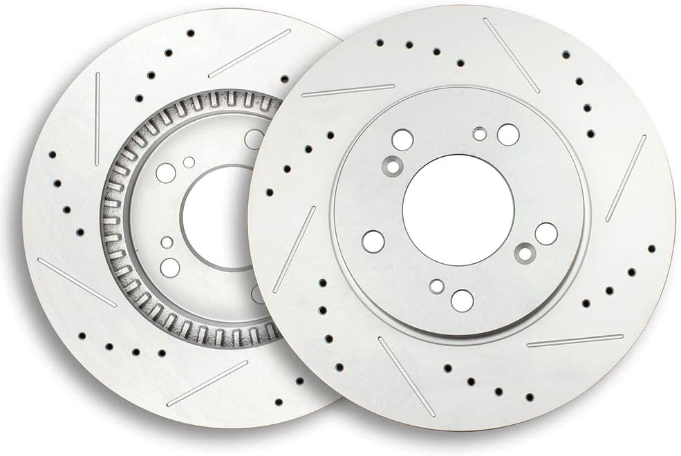 Front Red Brake Calipers And Rotors /& Brake Pads For Integra CRV Prelude Odyssey