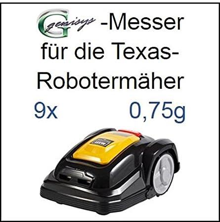 9 - Cuchillo para cuchillas de recambio 0, 75 mm para Texas Smart ...