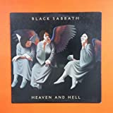 BLACK SABBATH Heaven And Hell BSK 3372 LP Vinyl VG+ Cover VG+